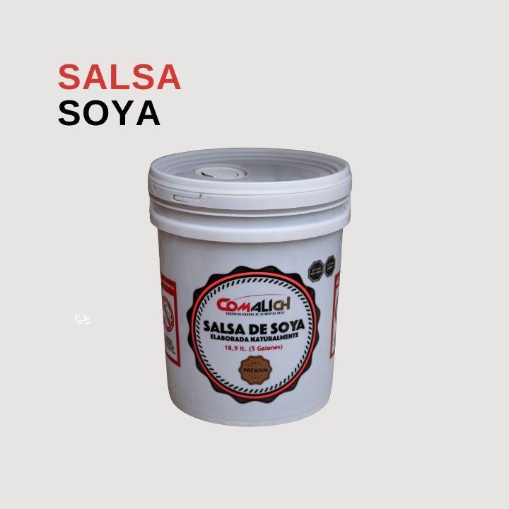 SALSA DE SOYA AL POR MAYOR